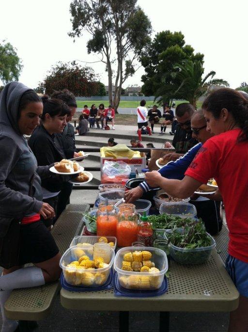 3rd Annual Copa Comunidad 2012: Post Game Feast, Alameda, CA