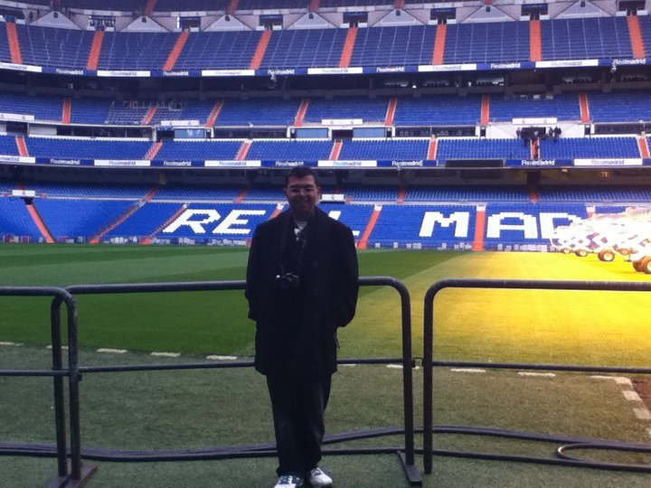 Freddy at RM Stadium