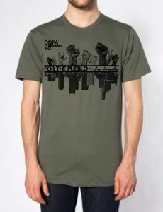 Copa LA 15 T-Shirt Mock-up